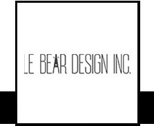 Le Bear Design Logo