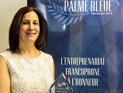 La Palme bleue - CCV Vancouver