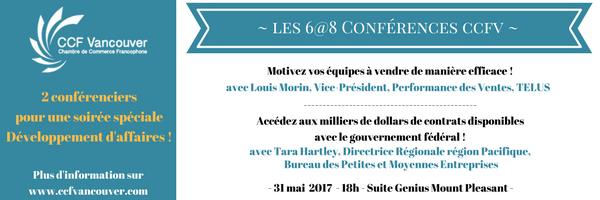 La chambre de commerce francophone de vancouver 6 8 for Chambre de commerce vancouver